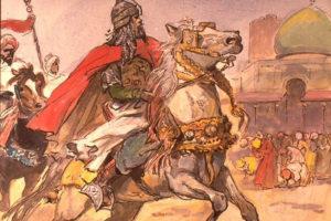 как шли войны между мусульманами и крестоносцами