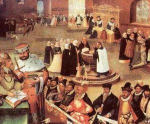 чем закончилось противостояние католиков и протестантов в германии 16 века