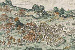 какие были наиболее известные сражения религиозных гугенотских войн во франции