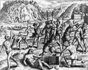 как Колумб обращался с туземцами