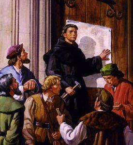 в чем суть учения лютера