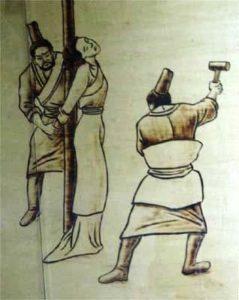как наказывали женщин в Китае