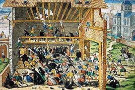 как католики преследовали гугенотов