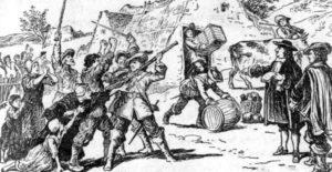 как началось противостояние католиков и протестантов во франции