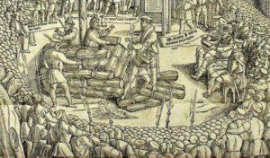 сколько протестантов было казнено и сколько бежало при марии тюдор в англии