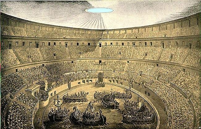 какие шоу в Колизее