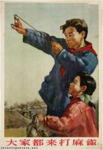 китайцы и воробьи