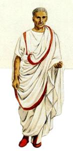 что носили римляне