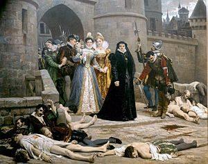 сколько людей погибло в варфоломеевскую ночь