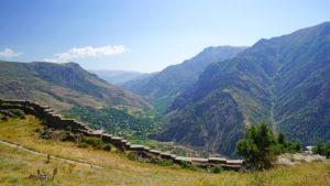 какие в армении горы