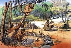 как жили самые первые первобытные люди