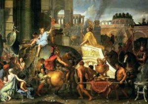 в каких городах был александр македонский