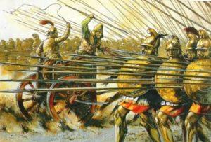 как шла битва при гавгамелах