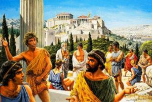 как выглядела древняя греция