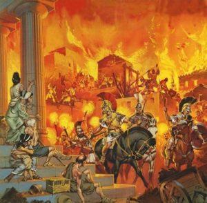 как погиб город персеполь