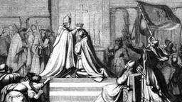 как был коронован император фридрих барбаросса