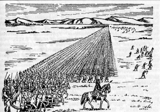 каким было войско александра македонского