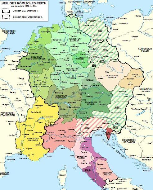 где была священная римская империя