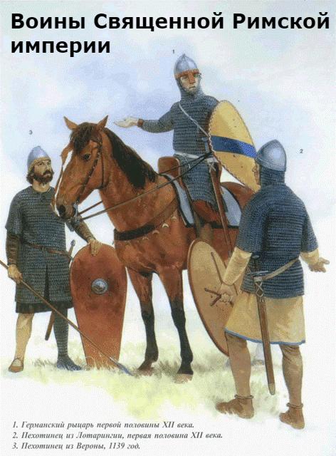как выглядели воины священной римской империи