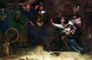 какие есть теории о причинах преследований колдунов и ведьм в средневековой европе