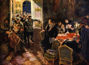 как большевики пришли к власти