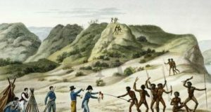 люди песчаного берега