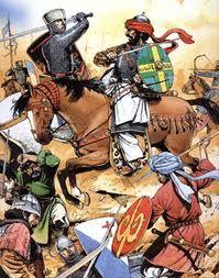 битва Ричарда I с Саладином