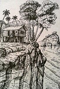 Как жил Миклухо-Маклай среди папуасов