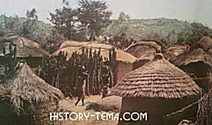 деревня Африки в фотографиях