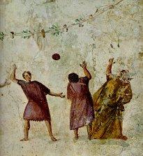 как играли в мяч в древности