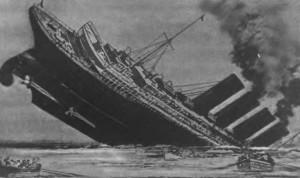 что было следствием подрыва лайнера лузитания