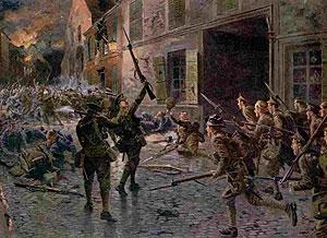 какие операции проводила немецкая армия в первую мировую войну