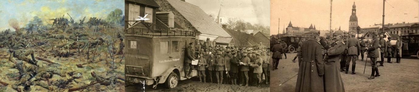 как проходили сражения первой мировой войны в россии