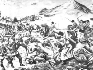 как развертывались военные действия первой мировой войны в закавказье