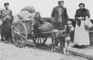 как население относилось к оккупационным войскам в первую мировую войну