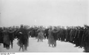 что происходило на российском фронте первой мировой войны после революции в россии