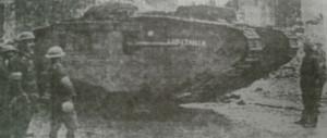 когда впервые использовали танки