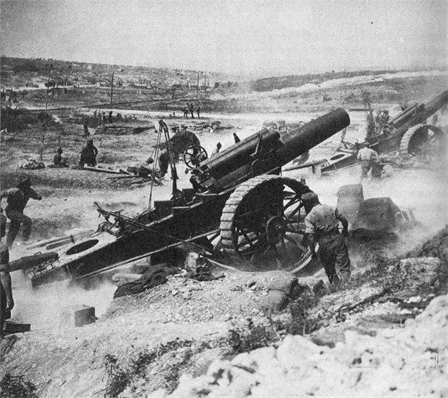 какие были основные сражения первой мировой войны
