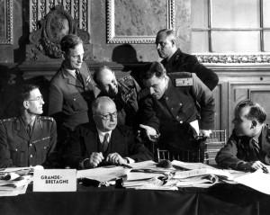 как были заключены мирные договоры после первой мировой войны