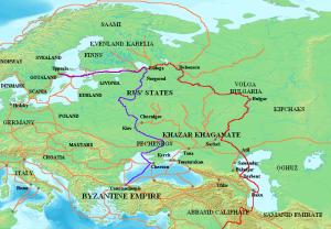 что такое путь из варяг в греки