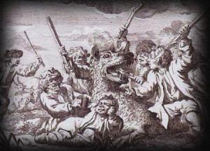 как нападал на людей Жеводанский зверь