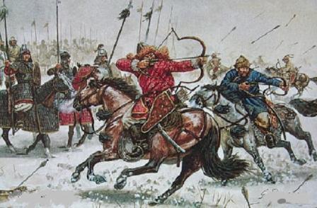 как сражались татары