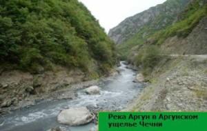 как выглядят горные реки кавказа