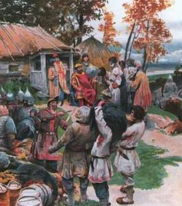 как жили на Руси в старину