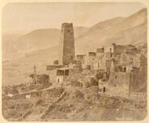 как строили дома в горах кавказа