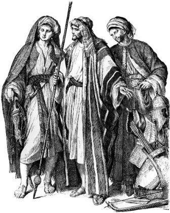 как одевались арабы в древности