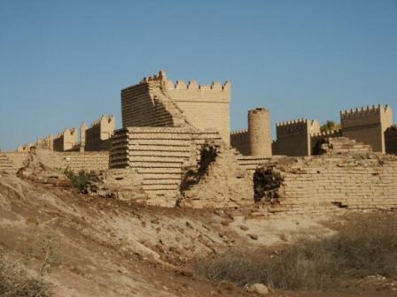 Что находится теперь на месте Древнего Вавилона