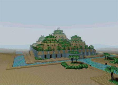 Что такое висячие сады Семирамиды