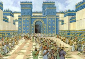 Как выглядели ворота Вавилона