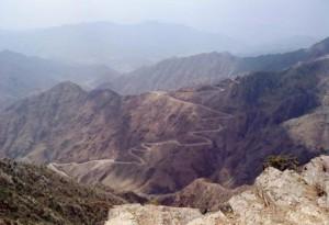Как выглядят горы в Аравии